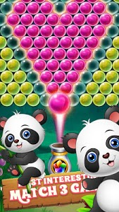 screenshot of New Baby Panda Bubble Shooter version 1.1.0