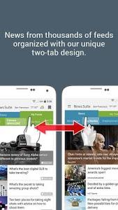 screenshot of News Suite by Sony version Varies with device