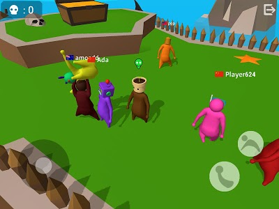 screenshot of Noodleman.io - Fight Party Games version 2.9