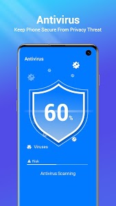 screenshot of One Booster - Antivirus, Booster, Phone Cleaner version 1.5.0.0
