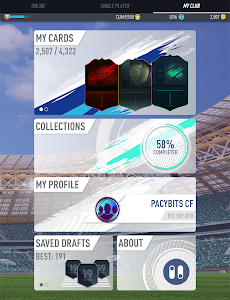 screenshot of PACYBITS FUT 19 version 1.7.2