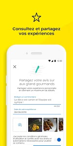 screenshot of PagesJaunes – recherche locale version Varies with device