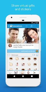 screenshot of Paltalk - Find Friends in Group Video Chat Rooms version 7.6.1.7535