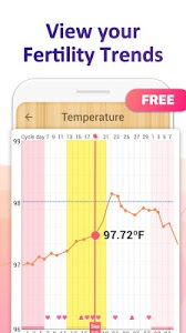 screenshot of Period Tracker - Period Calendar Ovulation Tracker version Varies with device