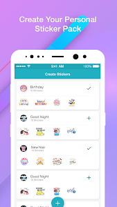 screenshot of Personal Sticker Maker : WAStickerApp For WhatsApp version 1.0.0