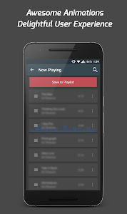 screenshot of Pi Music Player version 2.4.2