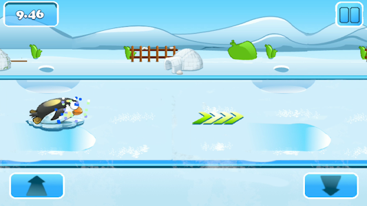 screenshot of Pingoo Racer version 1.3
