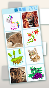 screenshot of Pixyfy: pixel art by color by number version 18.09.08