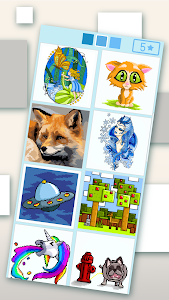 screenshot of Pixyfy: coloring by number coloring book version 9.12