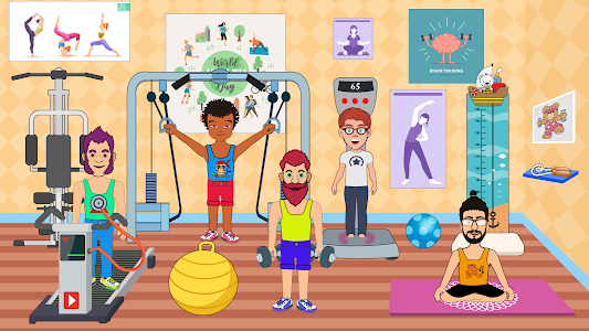 screenshot of Pretend Play in Hospital: Fun Town Life Story version 1.4