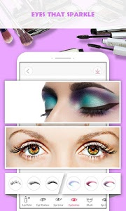 screenshot of Pretty Makeup, Beauty Photo Editor & Snappy Camera version 3.0