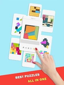 screenshot of Puzzledom - classic puzzles all in one version 7.2.4