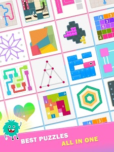 screenshot of Puzzledom - classic puzzles all in one version 7.3.53