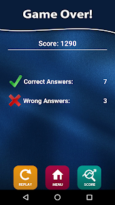 screenshot of Quiz of Knowledge - Free game version 1.40