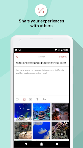 screenshot of Quora version Varies with device