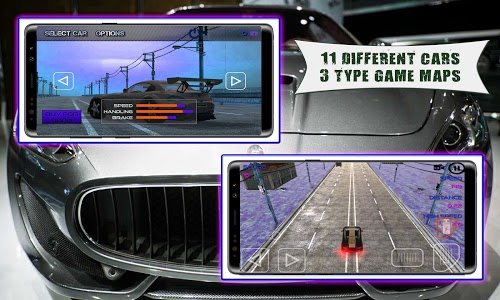 screenshot of Race With Luxury Cars Extrem Pro version 1.0
