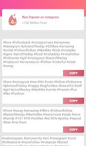 screenshot of Real Followers & Get Likes for Instagram version 2.2