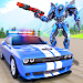 Real Police Car Chase Robot Transforming