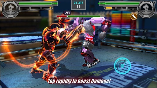 screenshot of Real Steel Boxing Champions version 2.1.156