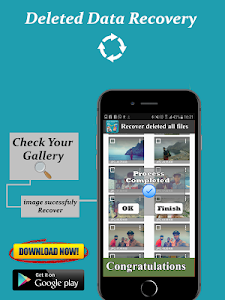 screenshot of Recover all files, photos and data recovery version 1.2