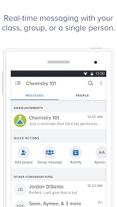 screenshot of Remind: School Communication version Varies with device
