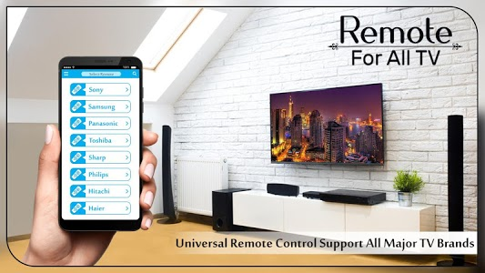 screenshot of Remote Control for TV : Universal Remote Control version 1.1