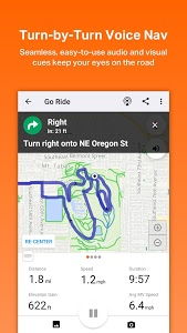 screenshot of Ride with GPS - Bike Computer version Varies with device