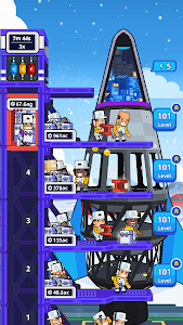 screenshot of Rocket Star - Idle Space Factory Tycoon Games version 1.31.3
