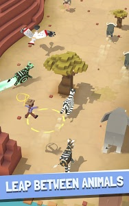 screenshot of Rodeo Stampede: Sky Zoo Safari version 1.3.0