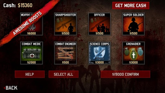 screenshot of SAS: Zombie Assault 3 version 3.11