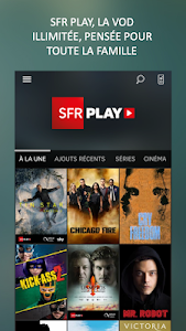 screenshot of SFR TV version Varies with device