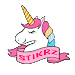 STIKRZ - Unicorn Sticker Pack for WhatsApp