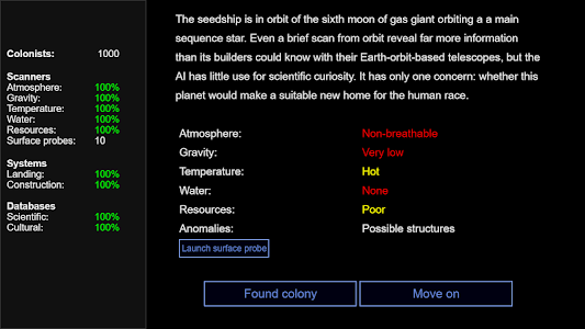 screenshot of Seedship version 1.3.1