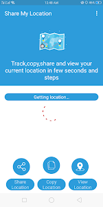 screenshot of Share My Location : GPS Tracker and Family Locator version 1.0.6