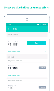 screenshot of Simpl Pay- For existing users version 2.1.1