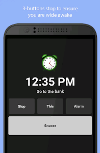 screenshot of Simple Alarm Clock Free version 7.8