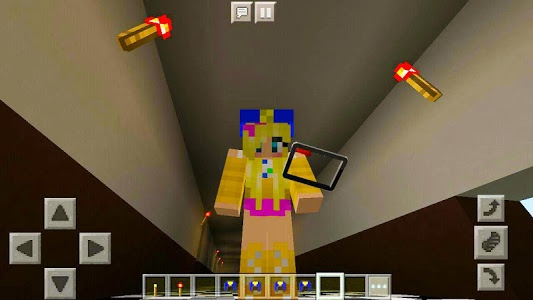 "screenshot of Skins pack "" FNAF "" for MCPE mine maps! version 1.0"