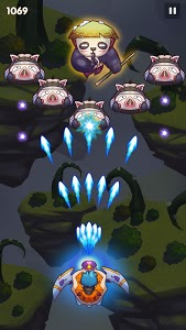 screenshot of Sky Champ: Monster Attack (Galaxy Space Shooter) version 4.5.6