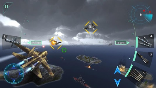 screenshot of Sky Fighters 3D version Varies with device