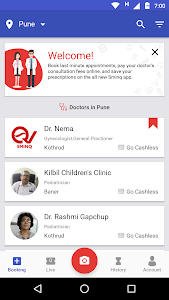 screenshot of Sminq - Doctor appointments version 3.3.5