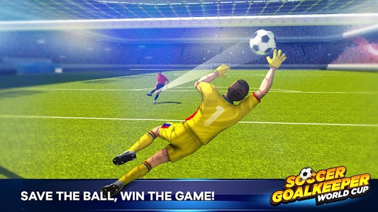 screenshot of Soccer Goalkeeper version 1.1.4