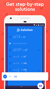 screenshot of Socratic - Math Answers & Homework Help version 1.8.1