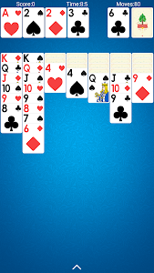 screenshot of Solitaire version 2.18