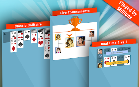 screenshot of Solitaire 3 Arena version 02.03.76.01
