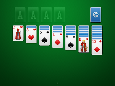 screenshot of Solitaire version 1.5.2.125