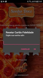 screenshot of Sonho Doce Pizzaria Fiel version 1.0