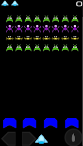 screenshot of Space Aliens version 1.0