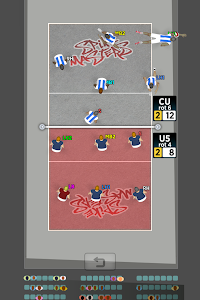 screenshot of Spike Masters Volleyball version 5.2.3
