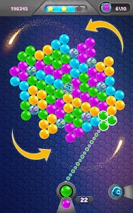 screenshot of Spin Bubble Puzzle version 1.1.4