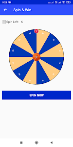 screenshot of SpinPayApp - Earn Free Paytm, Paypal Cash version 1.7